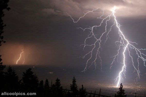 Beautiful Lightning Picture
