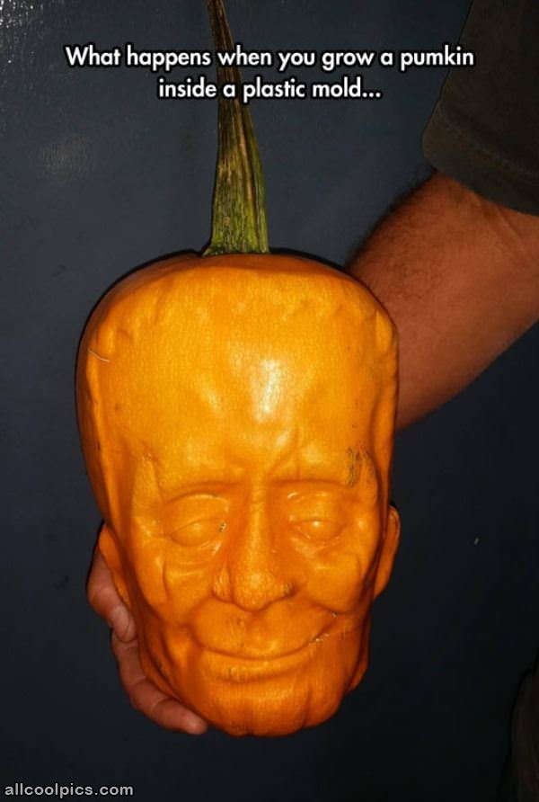 Cool Molded Pumpkin