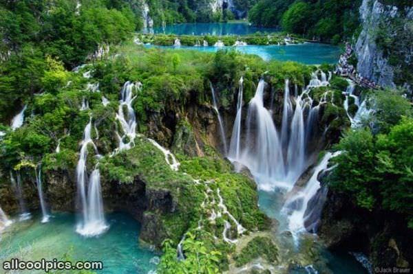 Cool Waterfall Area