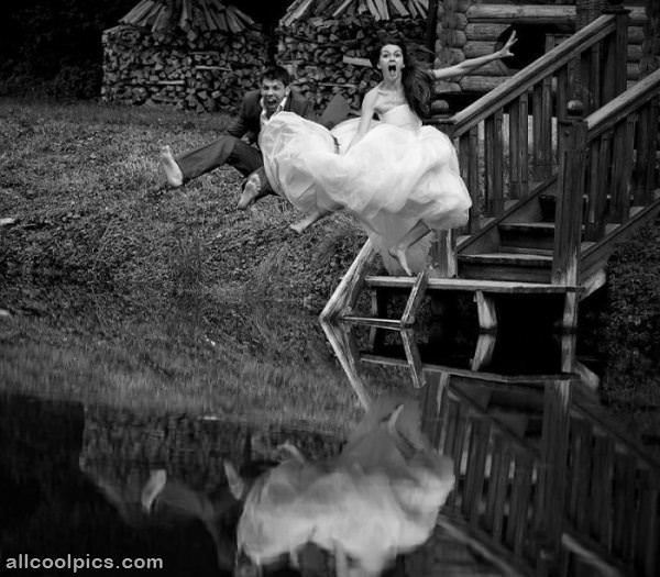 Cool Wedding Photo