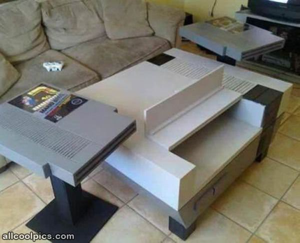 Nintendo coffee table cool pictures