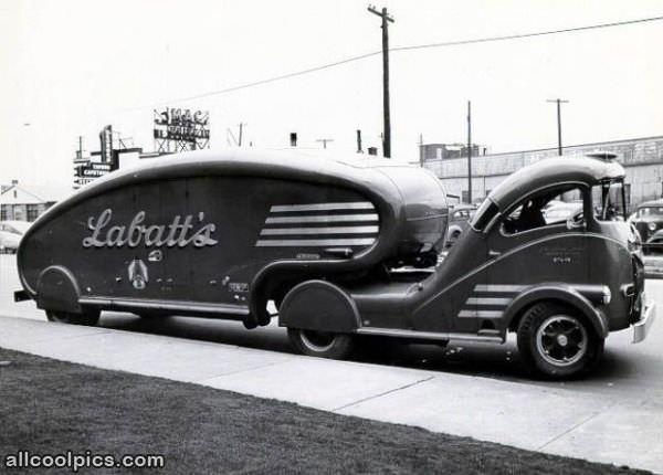 Old School Beer Truck  Cool Pictures