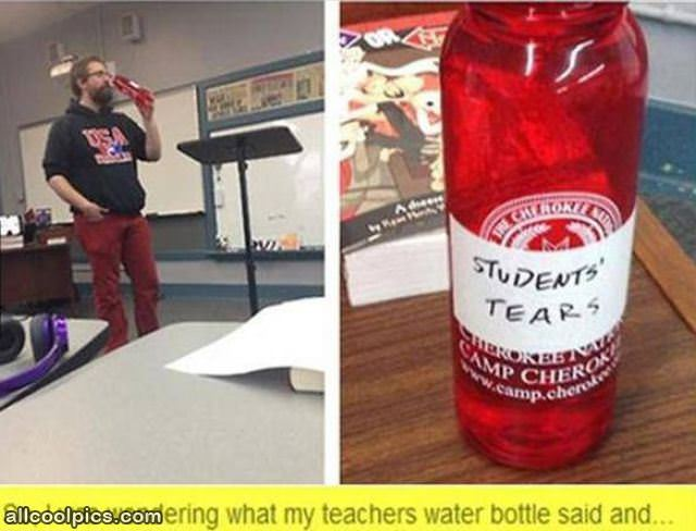 Teachers Bottle